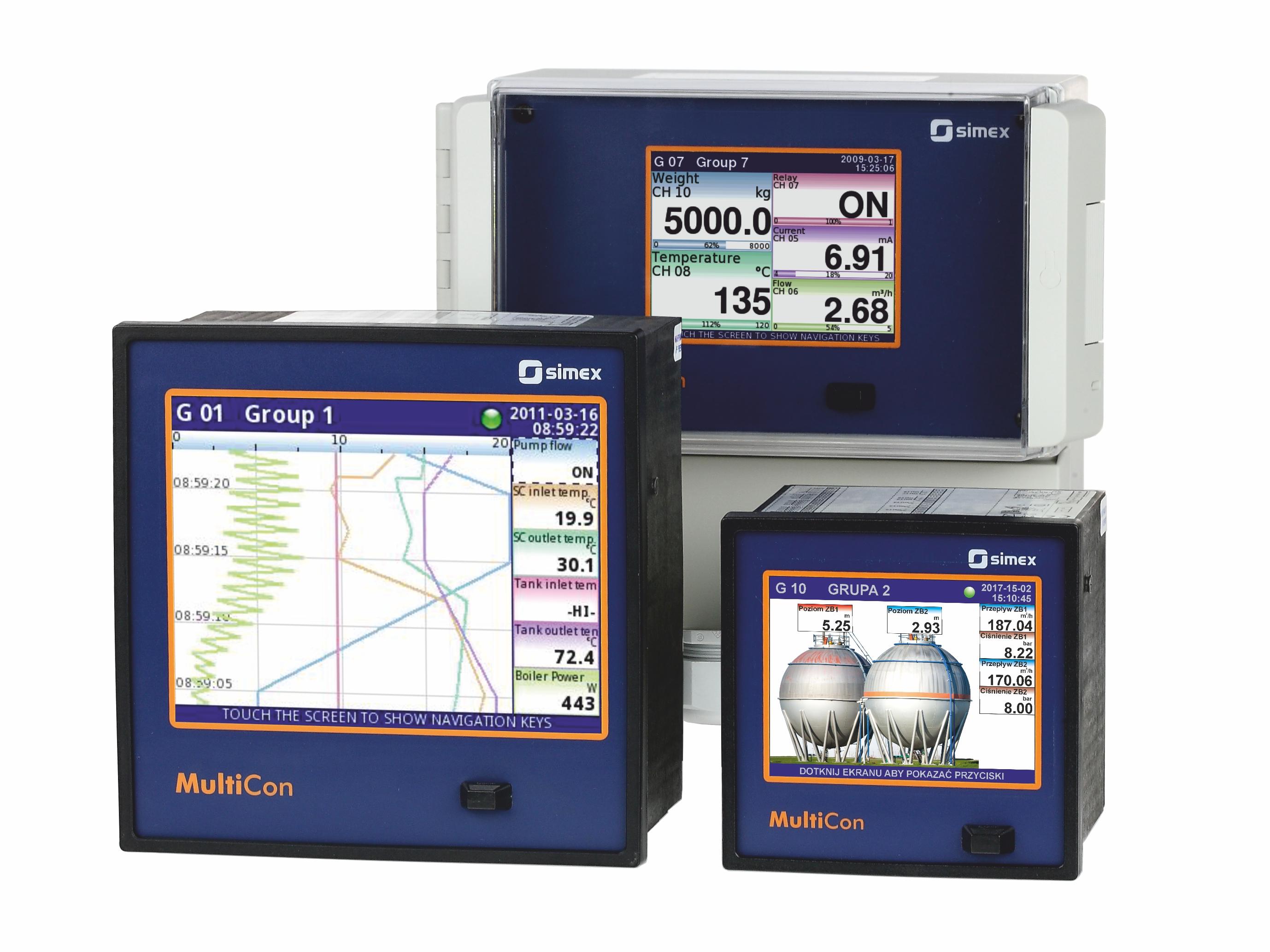 Bộ ghi dữ liệu đa kênh MultiCon CMC-99, CMC-141, CMC-N16